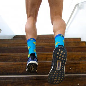 Spokes running socks sockdoping