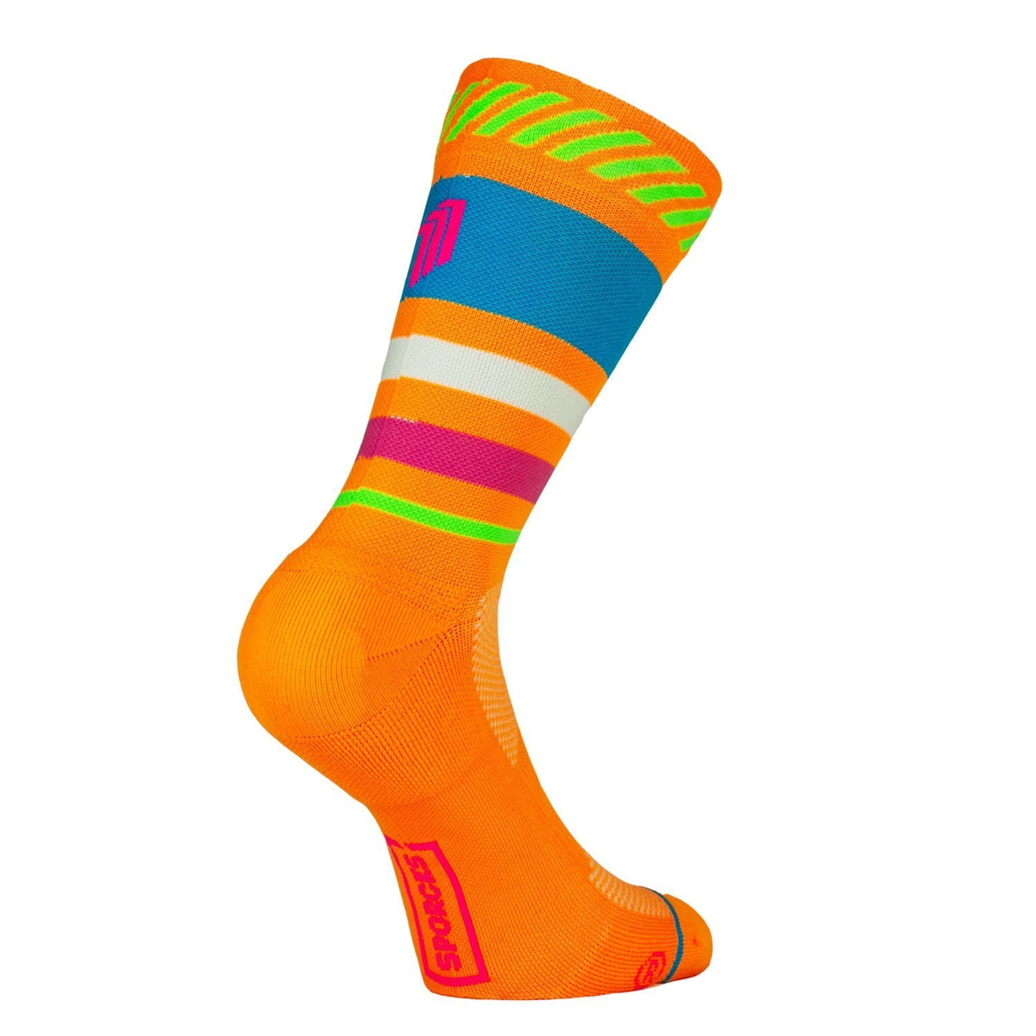 Lima Limón Orange - running socks