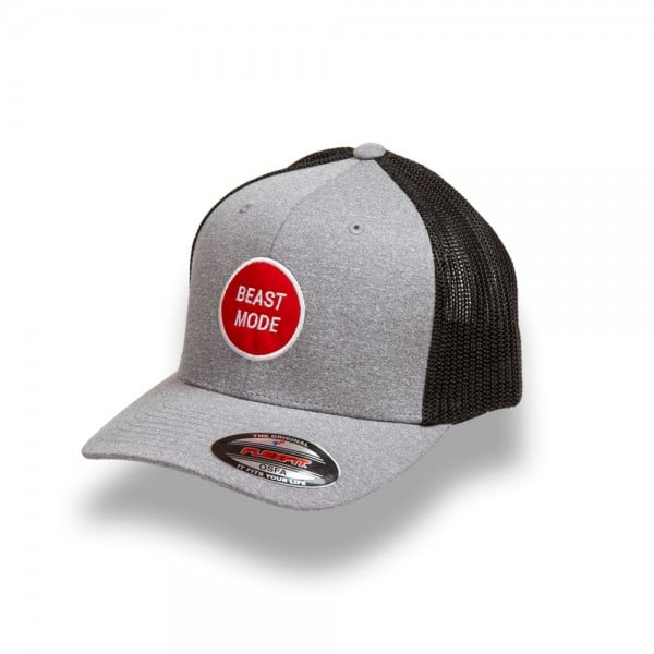 f0ac80f5 Beast Mode Grey Flexfit Cap