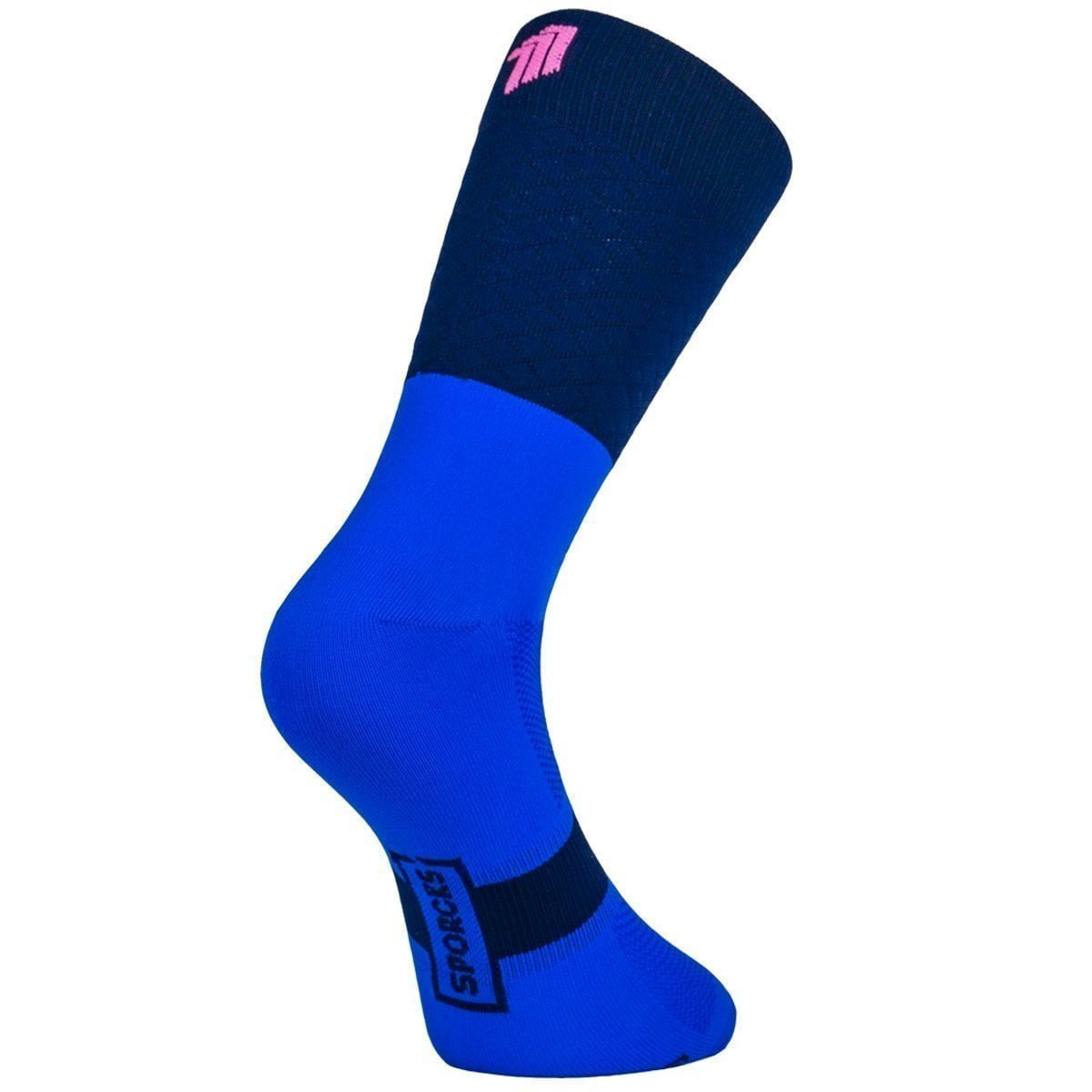 MARIE BLANQUE BLUE - Cycling Socks