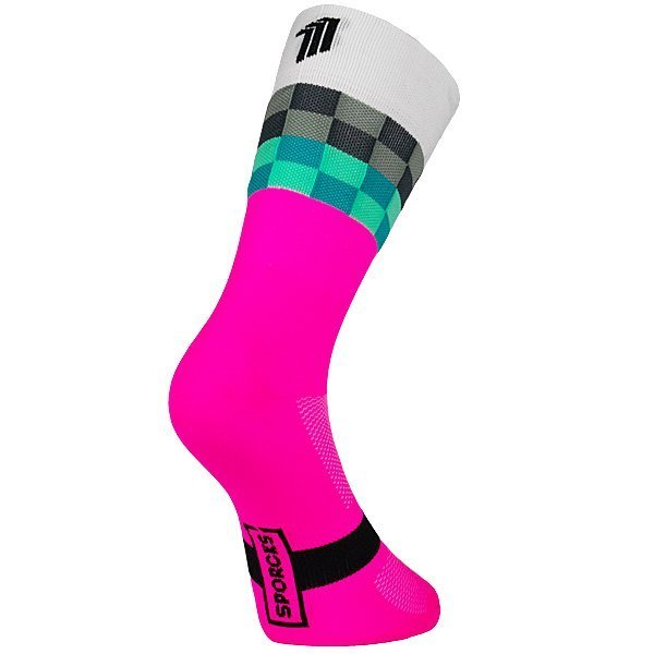 Mayday Pink - Cycling Sock