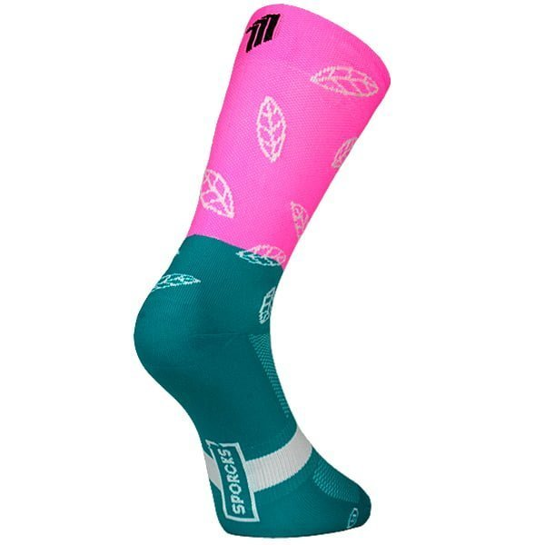 Mont Ventoux Pink - Cycling Sock